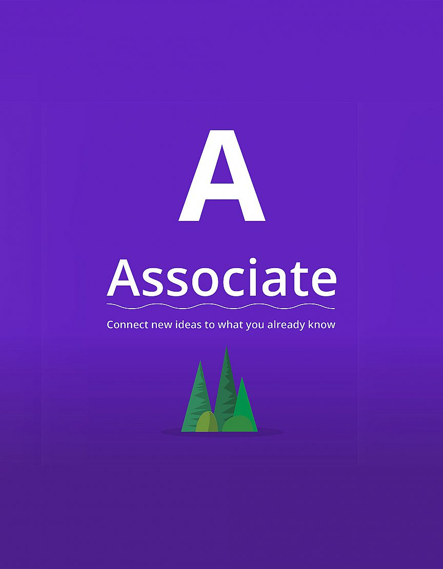 Associate: Connect new ideas to what you already know